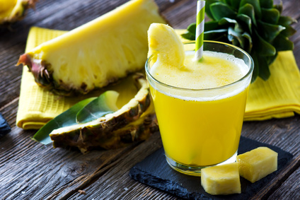 Ananas Wirsing Apfel Smoothie