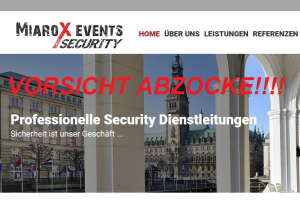 MiaroX Events Security GmbH