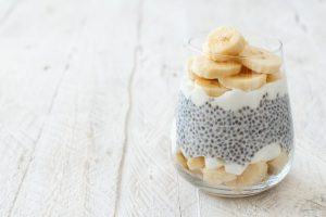 Hafer Chia Pudding