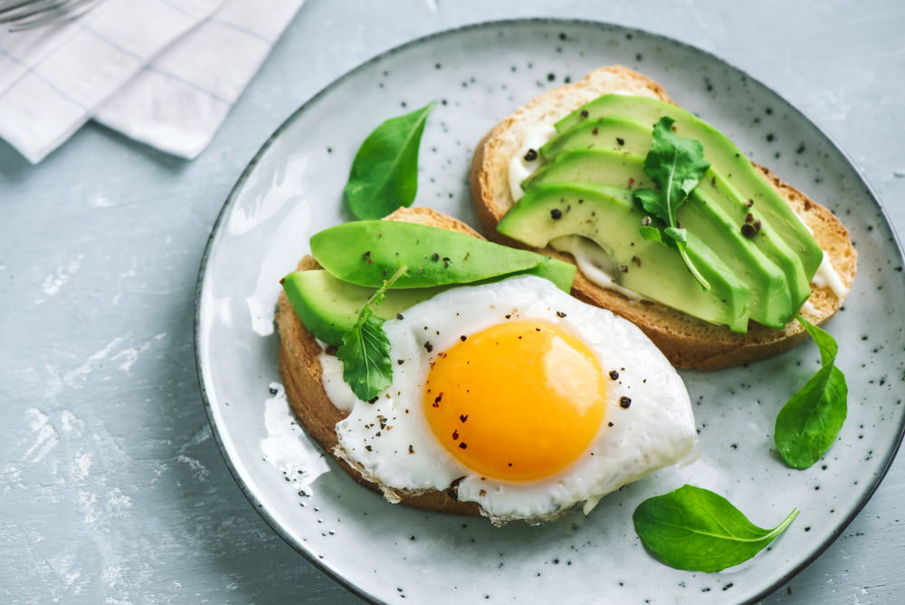 avocado toast sommer snack